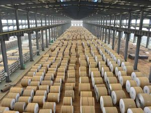 Aluminum coil warehouse for export