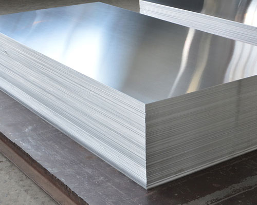 polished 1100 aluminum plate