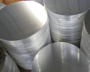 round aluminum plate disk